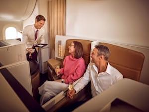 Etihad Airways Business Class Seat